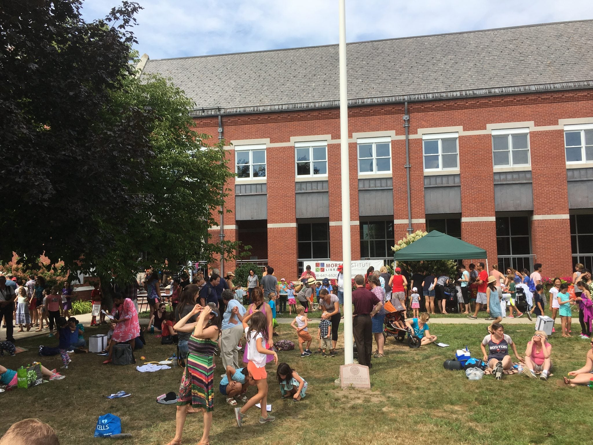 Morse Institute Library Natick, Eclipse