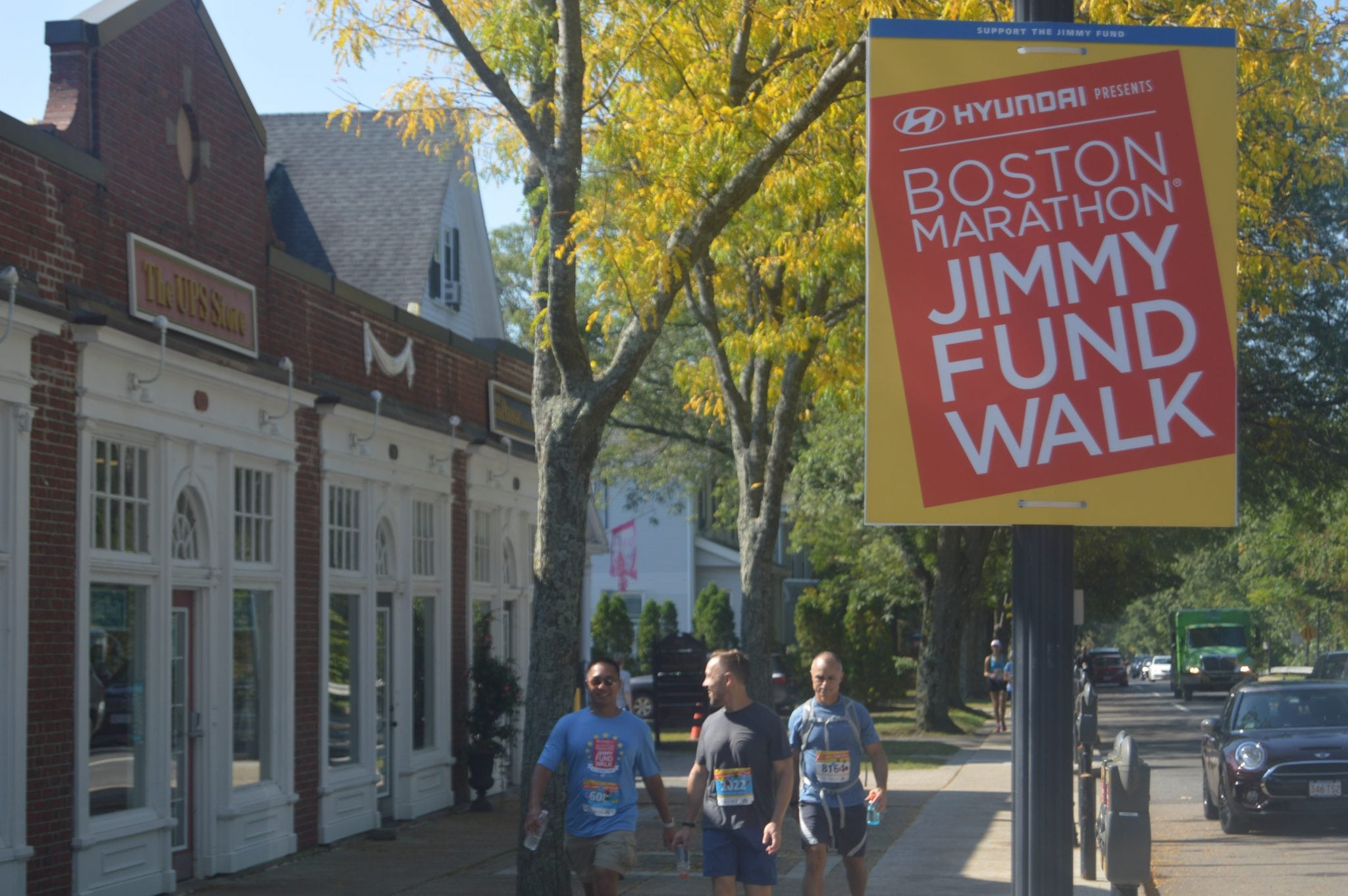Wellesley Jimmy Fund Walk