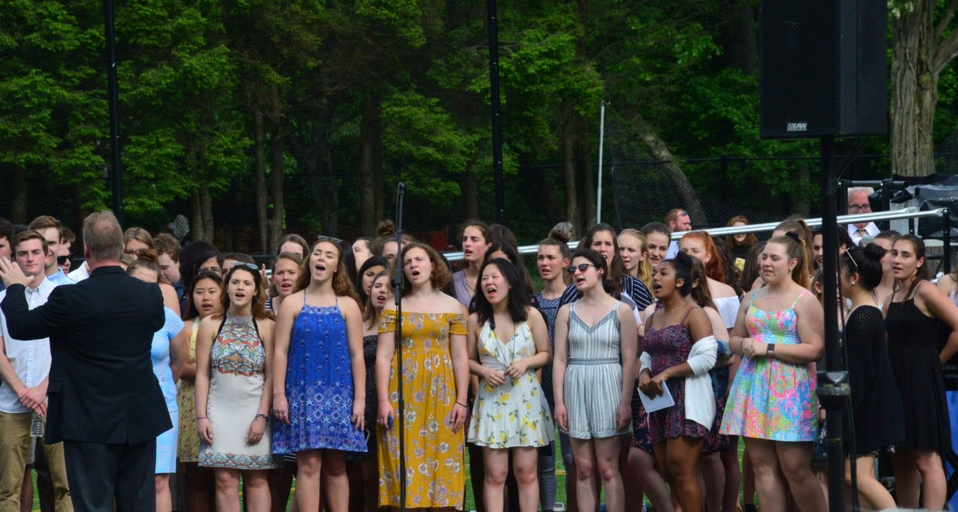 wellesley high graduation