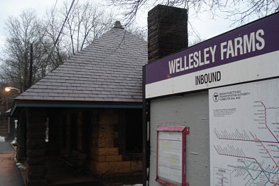 Wellesley Farms MBTA