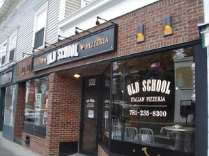 Old School Pizzeria, Wellesley Square