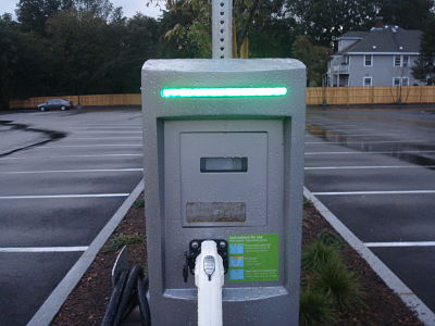 Wellesley Whole Foods electric charging station