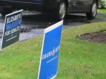 Democrat signs Wellesley 2012