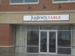 2012 Justine's Table Wellesley