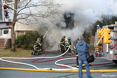Ashmont Road fire, Wellesley