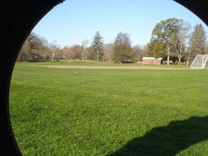 Hunnewell Field tire view