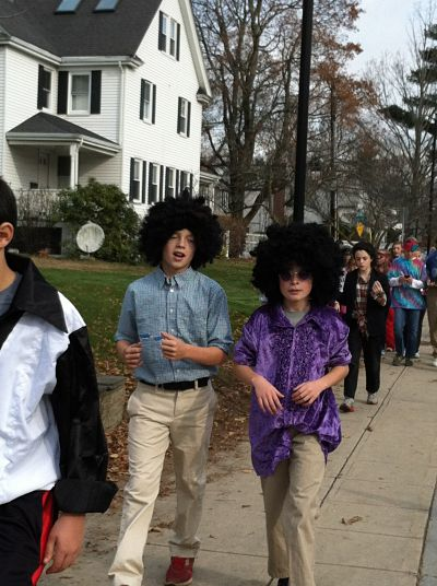 Turkey Promenade, Wellesley Middle School, 2012