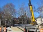 Rockland St bridge Dec. 15, 2012, ped bridge removed