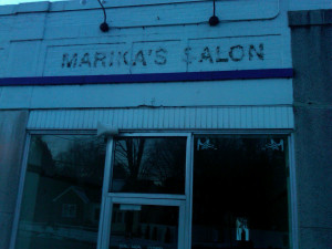 Marika's Salon, Wellesley, Jan 2013