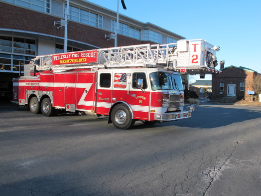 Wellesley Fire Department truck