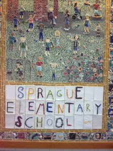sprague school mosaic wellesley