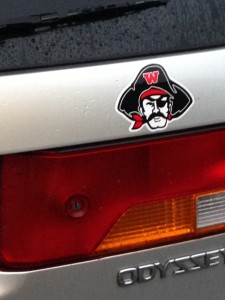 wellesley raider bumper sticker