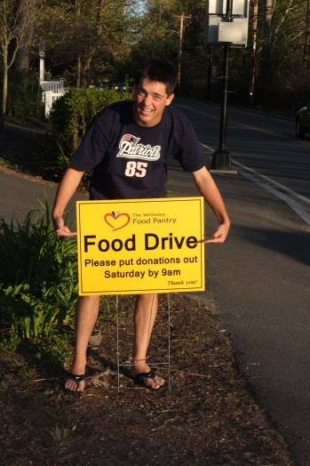 Food Drive sign #1_05782