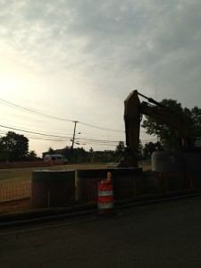 Rte 9/Cedar St bridge work may 2013
