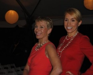 Shark Tank's Barbara Corcoran with realtor Jill Boudreau
