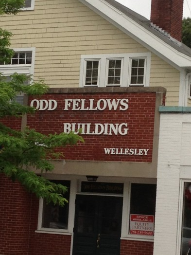 Odd Fellows Building Wellesley