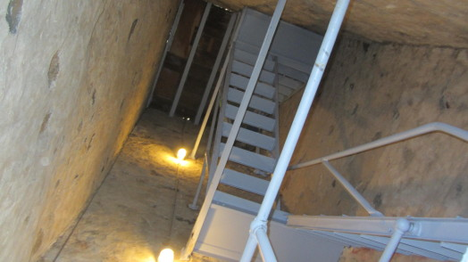 Inside Sprague Clock Tower, Aug 2013