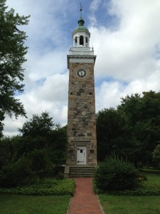 sprague clock tower wellesley