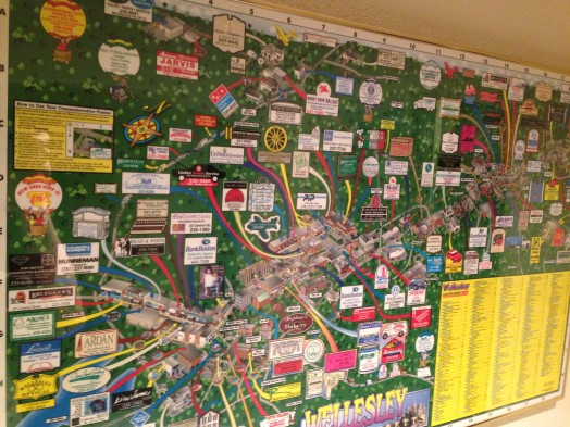 1998 wellesley map town hall
