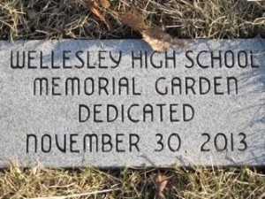 Memorial garden wellesley high