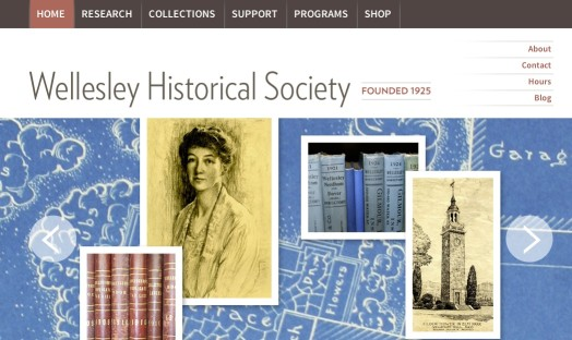 Wellesley Historical Society website