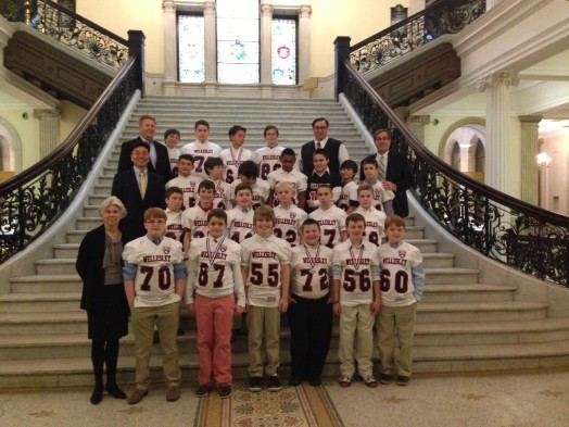 Wellesley's national 5th grade football champs