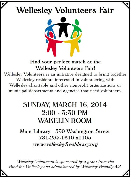 volunteer fair spring 2014