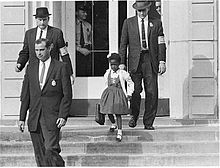 Ruby Bridges, New Orleans, 1960