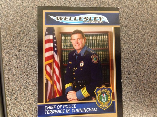 Terry Cunningham, Wellesley police chief
