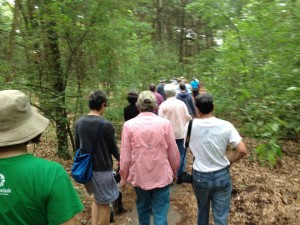 North 40 trails walk july 2014