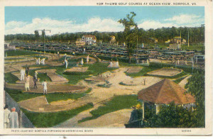 Tom Thumb course in Norfolk, Va: Via Ocean View Amusement Park & Beach site: http://www.nnhs65.com/Ocean-View.html