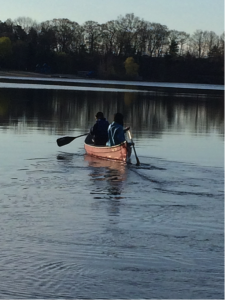paddling at Morses Pond