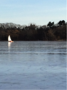 ice boat morses pond