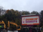 Rte 9 west dunkin donuts wellesley demolished oct 23 2014