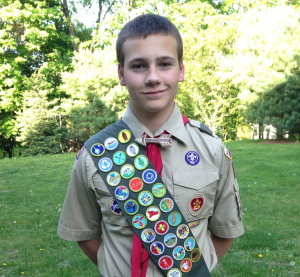 Wellesley Eagle Scout Max Morelli