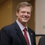 Incoming Massachusetts Governor Charlie Baker