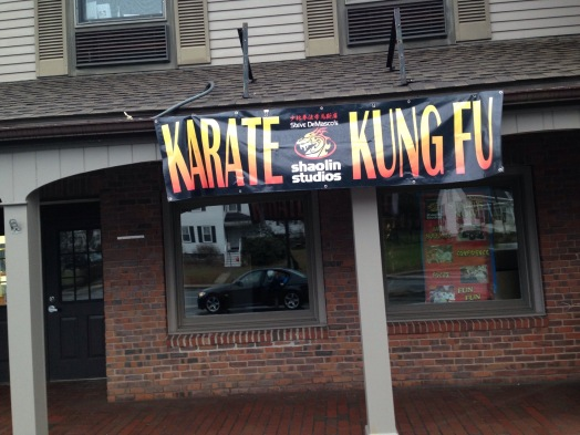 Karate and Kung fu