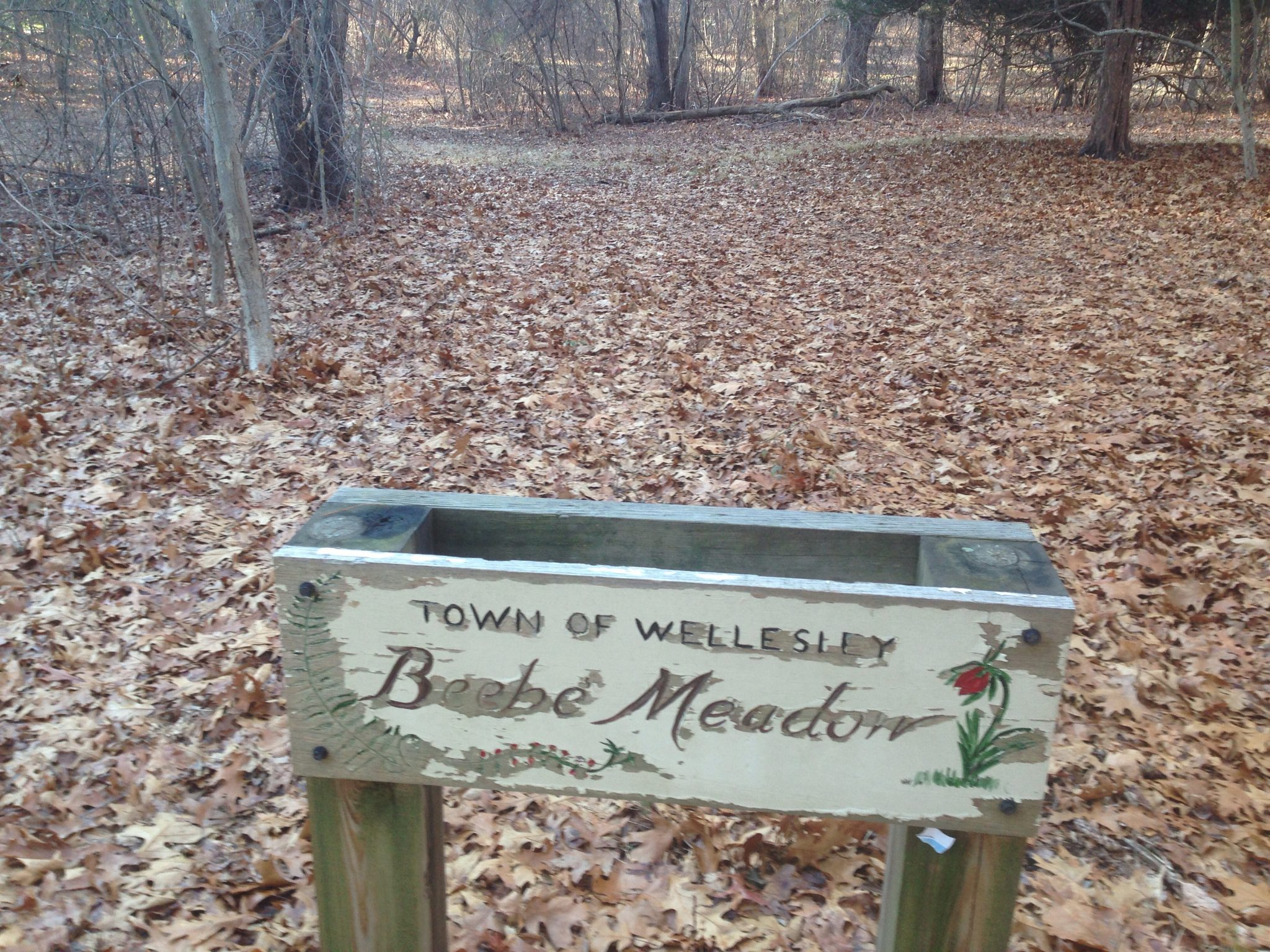 beebe meadow sign