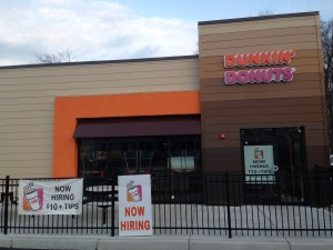 Rte 9 West Dunkin Donuts jan 2015