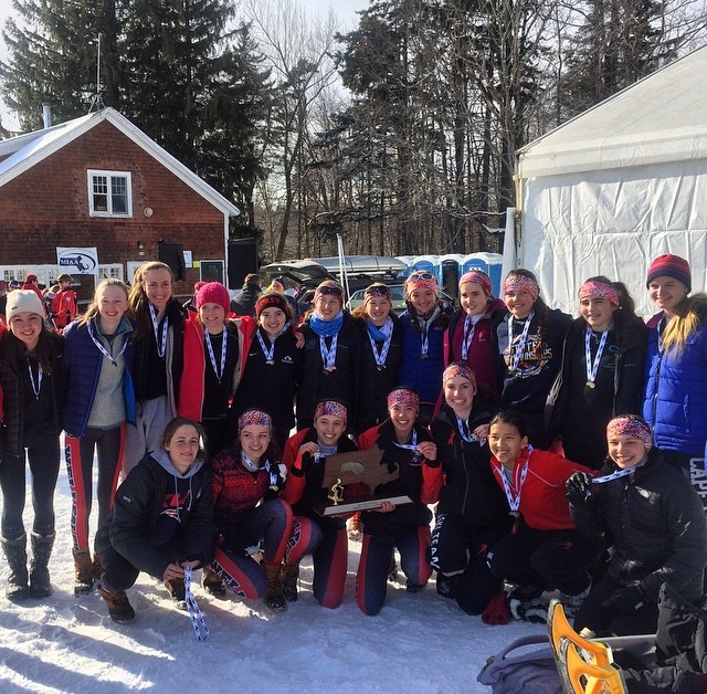 girls ski team 2015 champs