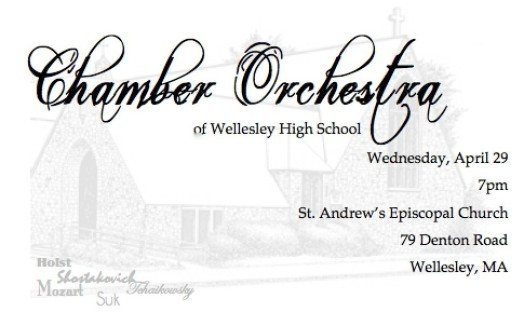 chamber orchestra wellesley