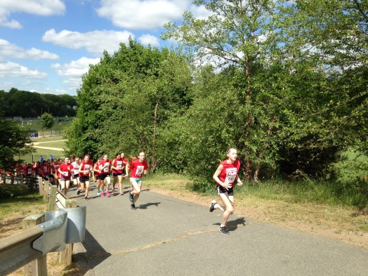 wellesley middle school mini marathon 2015