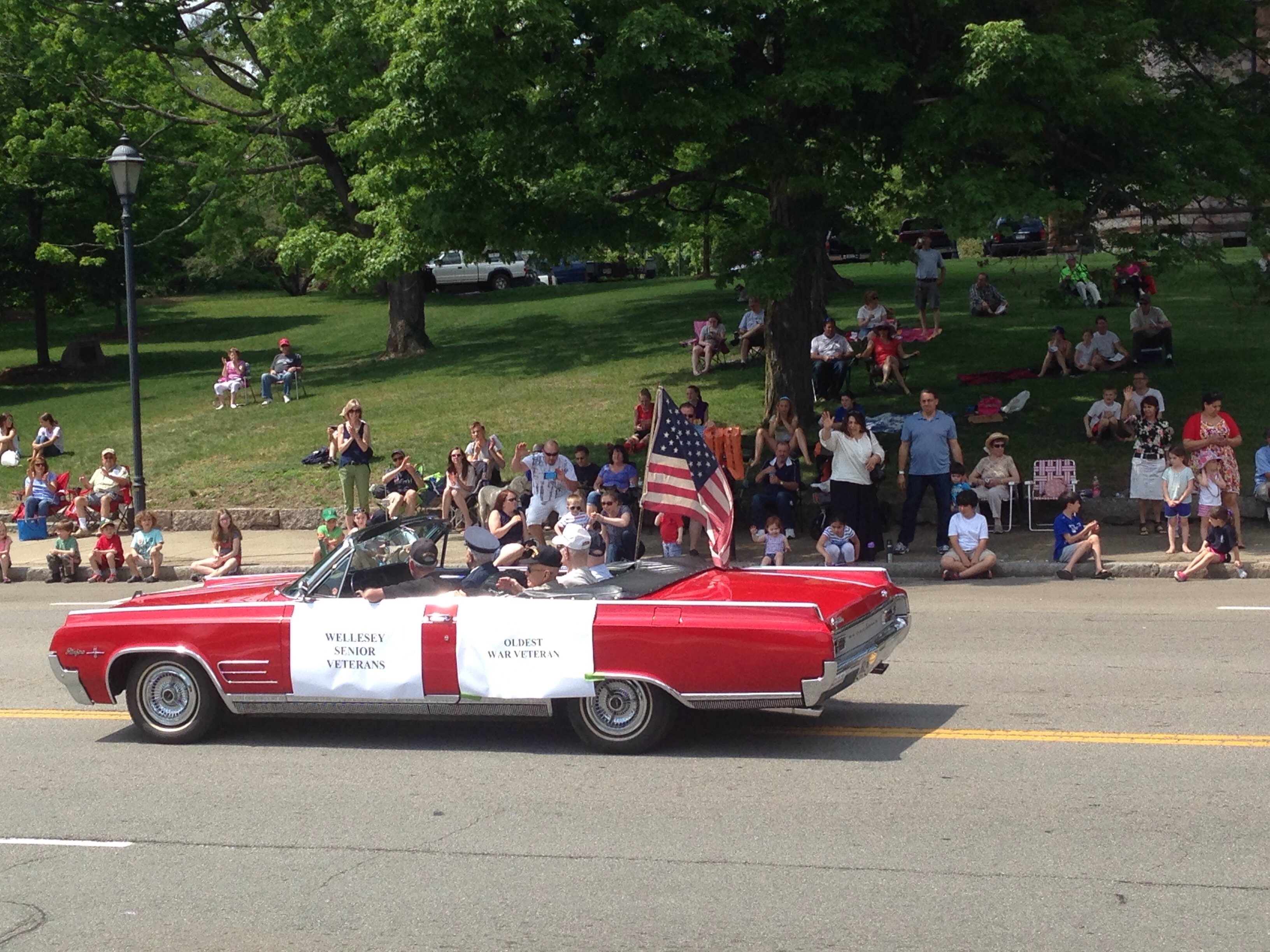 wellesley veteran parade