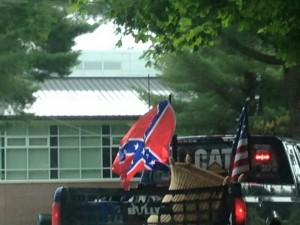 confederate flag in wellesley