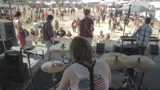 No Left Turn at Warped tour, wellesley band