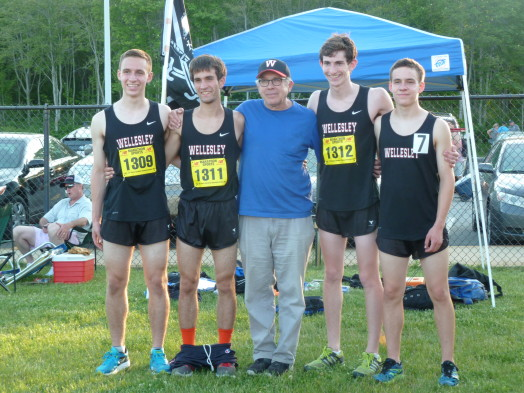 wellesley cross country track coach lou pearlman