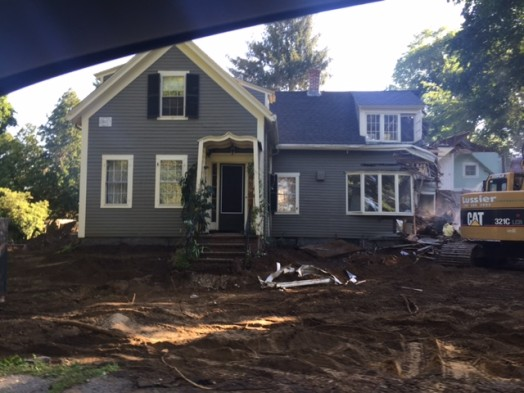 Home on Dover Road with historical plaque goes down in Wellesley