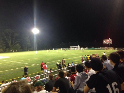 wellesley high boys soccer at babson night sept 2015