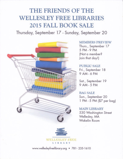 Wellesley Library Book Sale, 2015