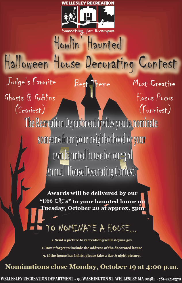 halloween decorating contest 2015 wellesley